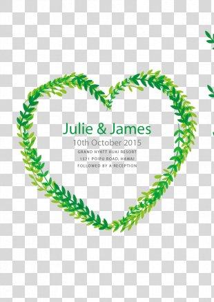 Wedding Invitation Marriage Euclidean Vector Digital Art - Wedding Invitation In The Form Of Heart PNG