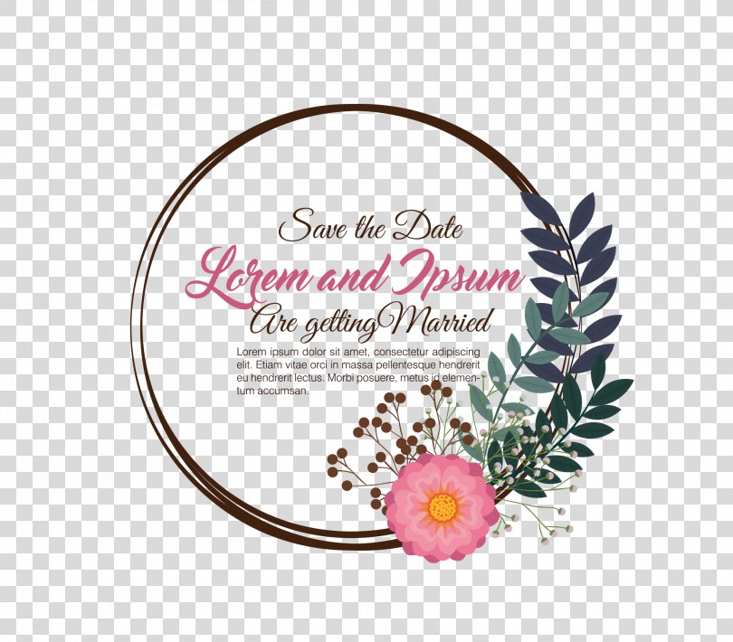 Wedding Invitation Clip Art, Warm Wedding Invitation Templates PNG, Free Download