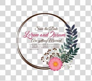 Wedding Invitation Clip Art - Warm Wedding Invitation Templates PNG