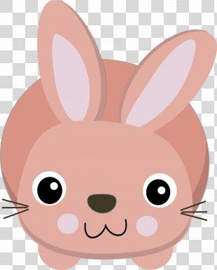 Easter Bunny Rabbit Clip Art - Bunny Ears PNG
