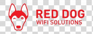 Logo Red Dog WiFi Solutions Brand - Wifi PNG