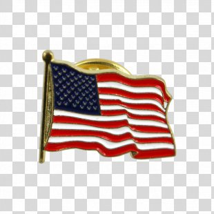 Flag Of The United States Lapel Pin - Us Flag PNG
