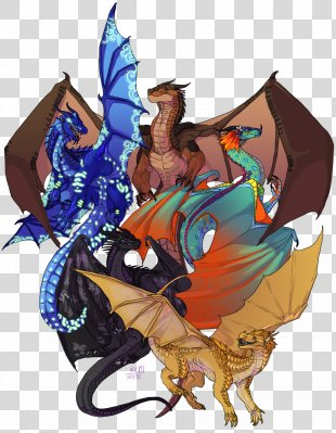 Wings Of Fire Drawing Dragon Image - Wings Of Fire Fanart PNG