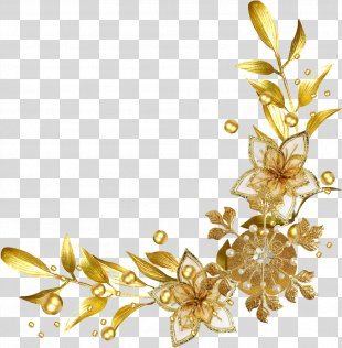 Clip Art Borders And Frames Gold Picture Frames - Yellow Border Royalty PNG