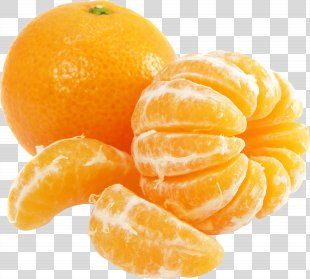 Orange Juice Tangerine Mandarin Orange Sweet Lemon Organic Food - Orange PNG