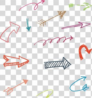 Vector Hand Drawn Arrow PNG