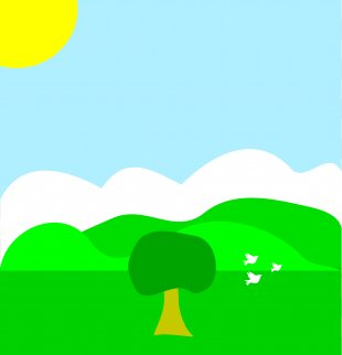 Spring Clip Art - Spring Sun Cliparts PNG
