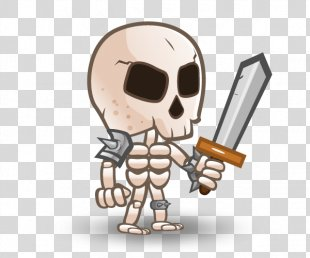 Skeleton 2D Computer Graphics Sprite Two-dimensional Space - Skeleton PNG