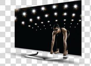 LED-backlit LCD High-definition Television Smart TV 3D Film - Tv PNG