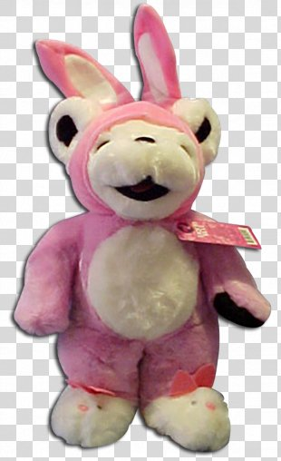Bear Stuffed Animals & Cuddly Toys Plush Easter Bunny - Pink Bunny Ears PNG