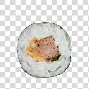 Asian Cuisine Makizushi Sushi Tempura California Roll - Sushi PNG