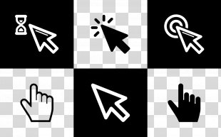 Computer Mouse Pointer Mouse Button Icon - Mouse Arrow PNG