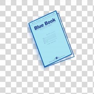Blue Book Exam Essay Paper - Exam PNG