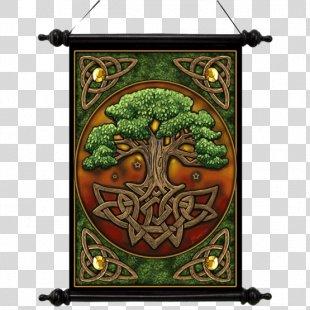 Celtic Sacred Trees Celtic Art Celts Tree Of Life - Celtic Tree Of Life PNG
