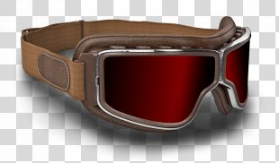 Goggles Aviator Sunglasses Flight - GOGGLES PNG