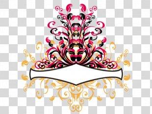 Border Flowers Art Clip Art - Floral Design PNG