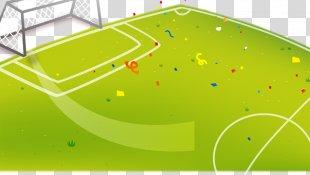 The UEFA European Football Championship Football Pitch Cartoon - Football Field PNG