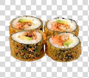 Sushi Pizza Japanese Cuisine Makizushi Gimbap - Sushi PNG