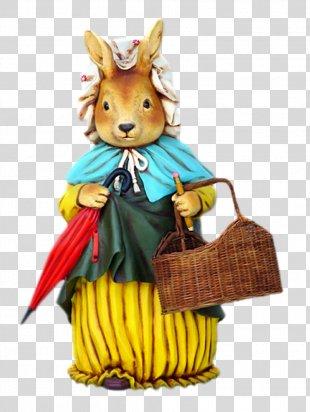 Easter Bunny Easter Egg Rabbit Easter Postcard - Easter PNG