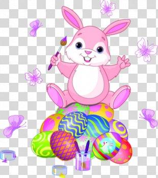 Easter Bunny Easter Egg Egg Hunt The Easter Bunnies - Easter PNG