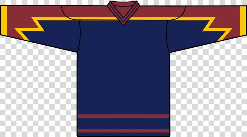 T-shirt Hockey Jersey NHL Uniform Sleeve, T-shirt PNG