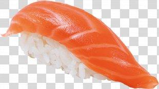 Sushi Sashimi Japanese Cuisine Clip Art - Bacon Drawing Transparent PNG