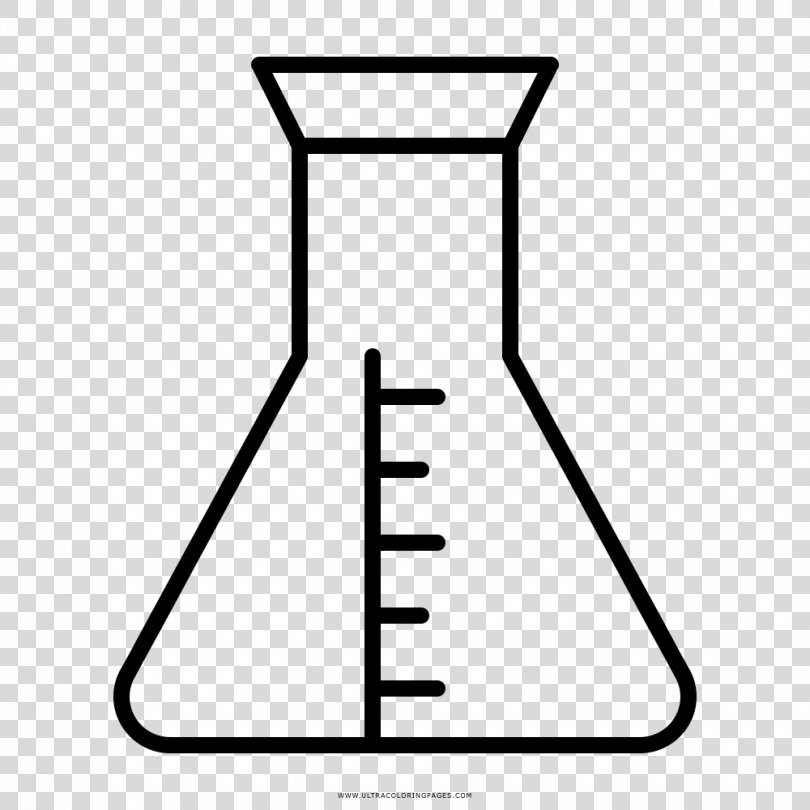 Erlenmeyer Flask Laboratory Flasks Laboratory Glassware Round-bottom Flask, Laboratorio Poster PNG