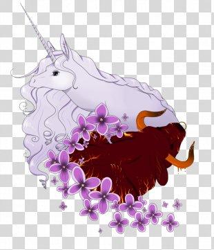 Unicorn Horn Schmendrick Tattoo Amalthea - Unicorn PNG