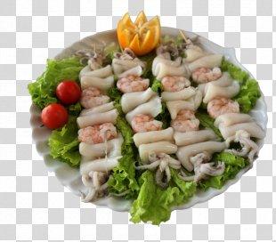 Squid As Food Hors D'oeuvre Chinese Cuisine Vegetarian Cuisine - Calamari PNG
