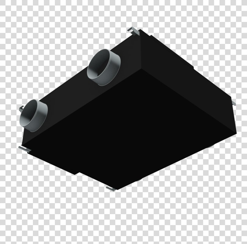 Angle Black M, Heat Recovery Ventilation With Heat Pump PNG