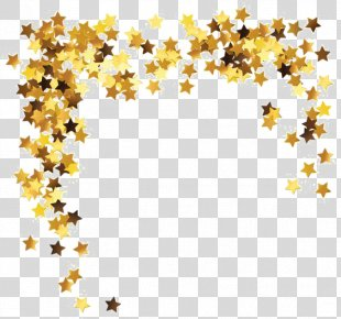 Star Gold Free Content Clip Art - Gold Stars PNG