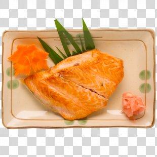 Sashimi Smoked Salmon Japanese Cuisine Sushi Shioyaki - Sushi PNG