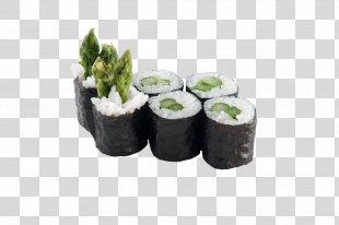 California Roll Makizushi Sushi Tamagoyaki Vegetarian Cuisine - Sushi PNG