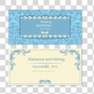 Wedding Invitation Marriage Euclidean Vector - Wedding Invitation Card Vector PNG