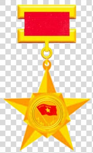 Vietnamese Heroic Mother Hero Of Labor Gold Star Order PNG
