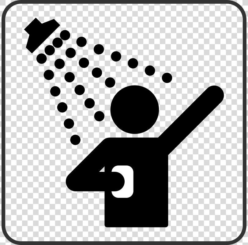 Shower Bathroom Clip Art, Shower Cliparts PNG