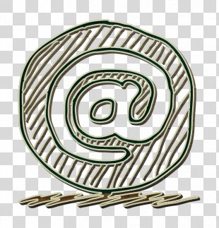 @ Icon Contact Icon Email Icon - Symbol Calligraphy PNG