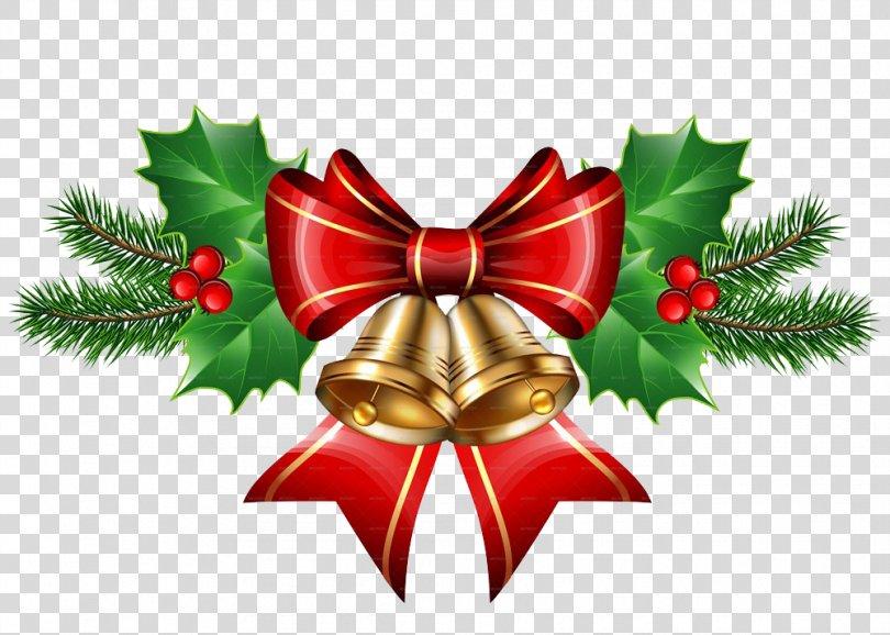 Christmas Bell Santa Claus Clip Art, Christmas Bell Transparent PNG