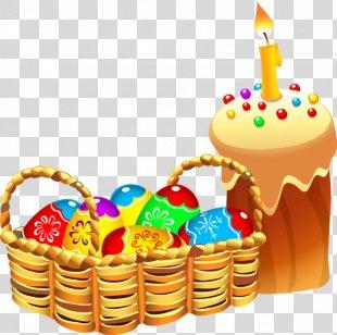 Easter Bunny Easter Egg Easter Basket Clip Art - Easter PNG