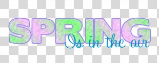 Spring Free Content Clip Art - Spring Word Cliparts PNG