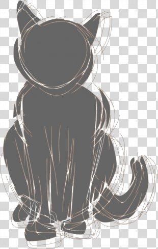 Cat Food Black Cat Feral Cat Clip Art - Cat PNG