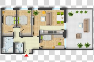 Floor Plan Architectural Rendering Architecture - Plan PNG