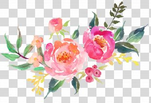 Decal Etsy Interior Design Services - Beautiful Fresh Flowers Watercolor PNG
