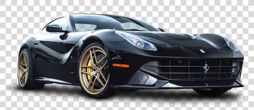 2015 Ferrari F12berlinetta Sports Car Luxury Vehicle, Black Ferrari F12 Berlinetta Car PNG