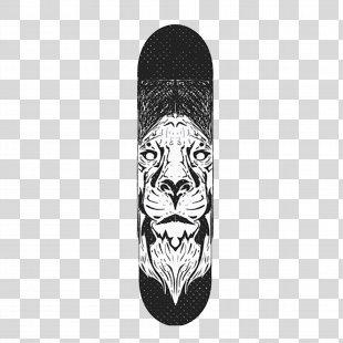 Skateboard Tiger Adobe Illustrator - Skateboard PNG