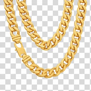 Chain Gold Necklace Clip Art - Chain PNG