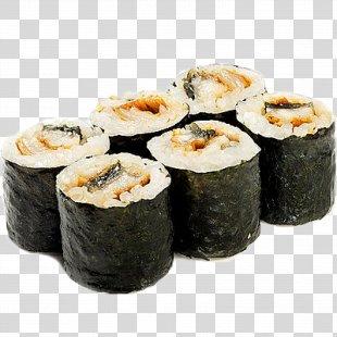 California Roll Gimbap Makizushi Sushi Tempura - Sushi PNG