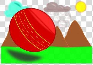 Clip Art - Clip Art Cricket Ball PNG