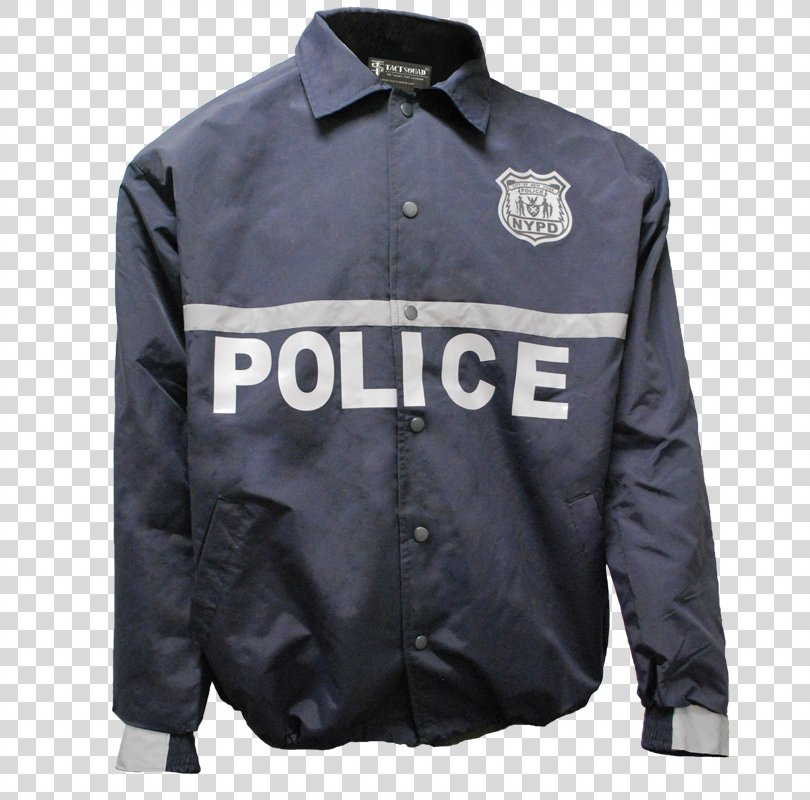 New York City Police Department Jacket Police Officer Uniform, Police Tape PNG