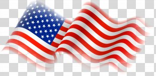 Flag Of The United States Thirteen Colonies Clip Art - American Flag PNG